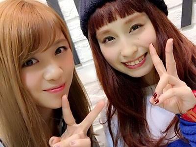 トミタ栞さん髪色が可愛すぎる