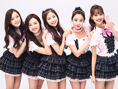GFにK-POPアイドルグループ April(エイプリル)が登場♡