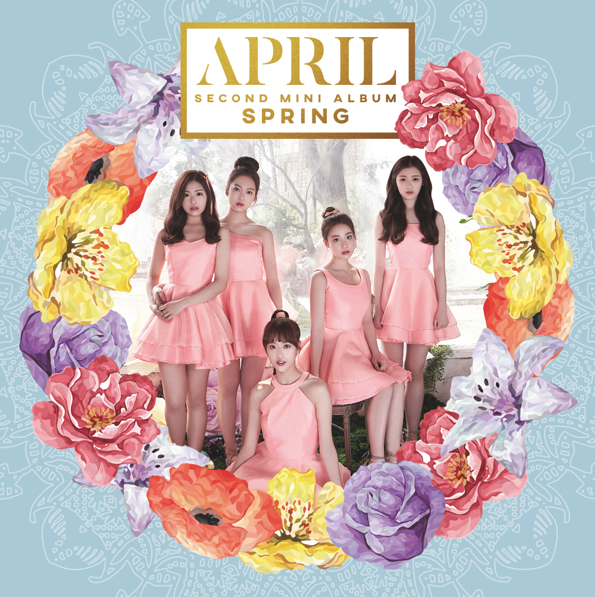 セカンドミニアルバム「Spring」アルバムジャケット公開!