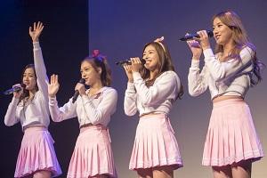 清純派アイドル April日本初単独コンサート「DREAM LAND」開…