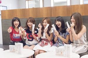 アプガが韓国の有名人御用達の美容院を訪問!!