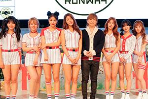 AOA、日本2nd アルバム発売記念イベントに小室哲哉がサプライズ出演!