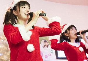 オリジナルソング「きみのマフラー」を!『りかりこ クリスマス☆スペシャル…