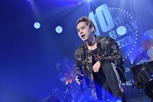 清水翔太、ツアーファイナルで「10年間を背負った」オリコン1位の新曲熱唱
