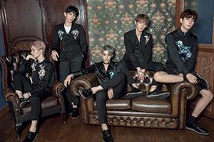 「美しいグループ」というキャッチコピーを持つ韓国出身の5人組新人アイドル…