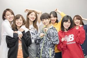 new balance☓アップアップガールズ(仮)#MYBETA撮影密着…