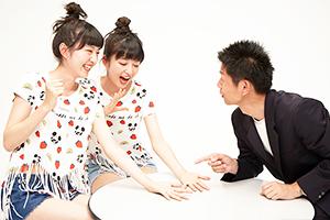"""【Vol.2】りかりこ×手相芸人""""島田秀平""""と対談!りこの思わぬ秘密とは…"""