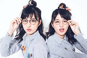 【Vol.4】りかりこ四変化!おしゃれメガネをプラスした春コーデ♡