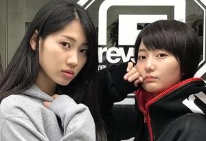 rvddw × UPUPGIRLSKAKKOKARI  新井愛瞳と佐保明…