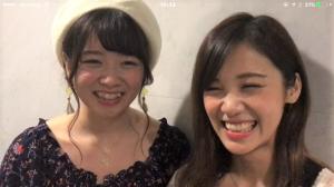 佐藤綾乃&高萩千夏 イベント直後、熱いバトル勃発!?