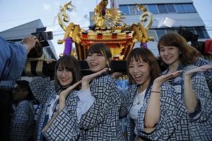 チャオベラが三社祭で超ハイテンション!ニューシングル「ハイテンション!我…
